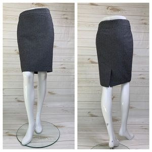 Grey pencil skirt gray with speckles by Ann Taylor